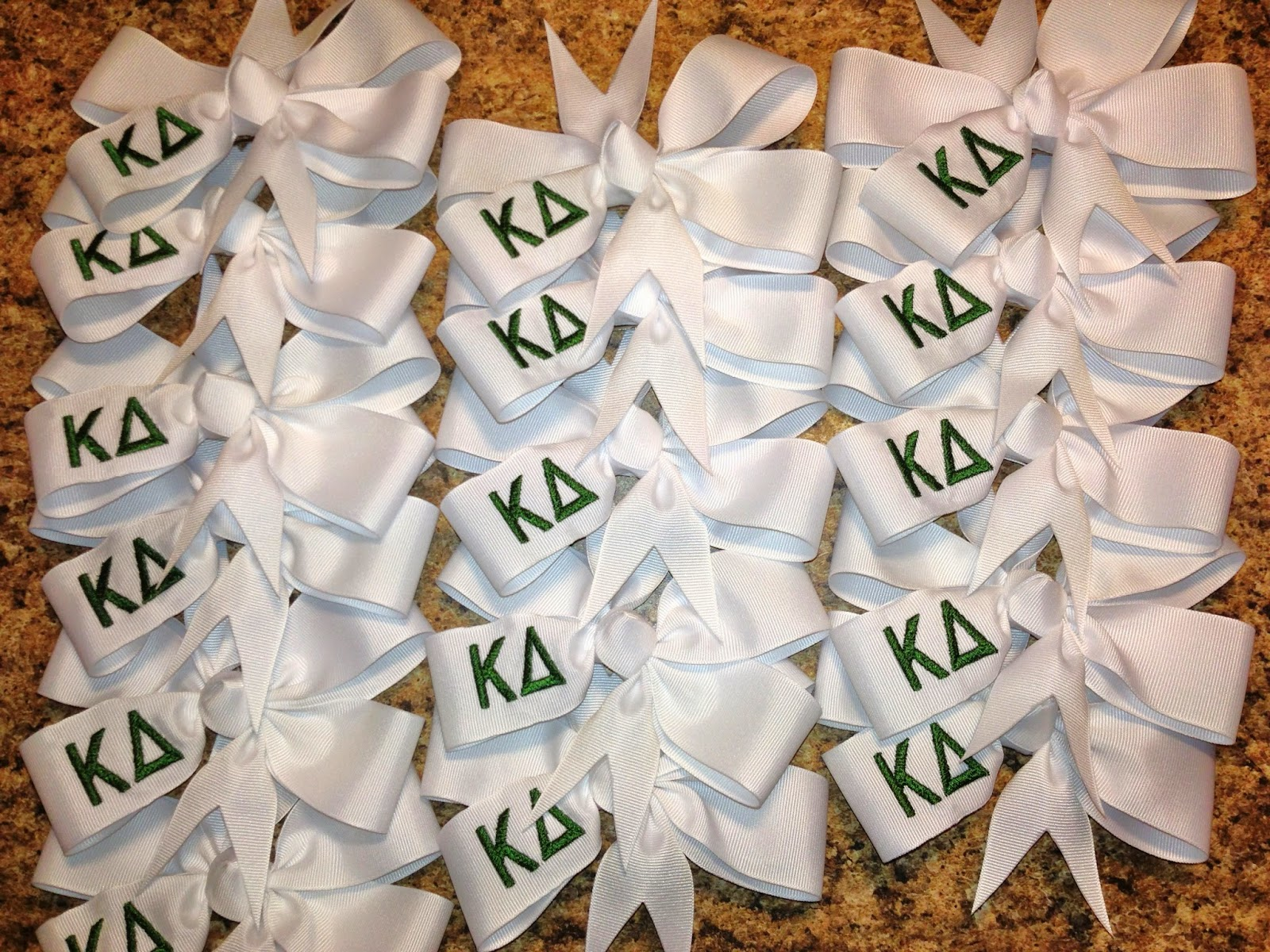 Kappa Delta Sorority Bows