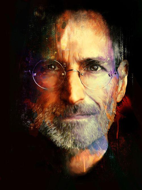 40 Lukisan Steve Jobs yang Mengagumkan: The Innovator
