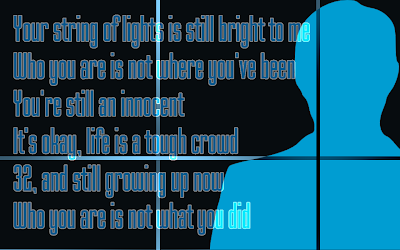 Innocent - Taylor Swift Song Lyric Quote in Text Image