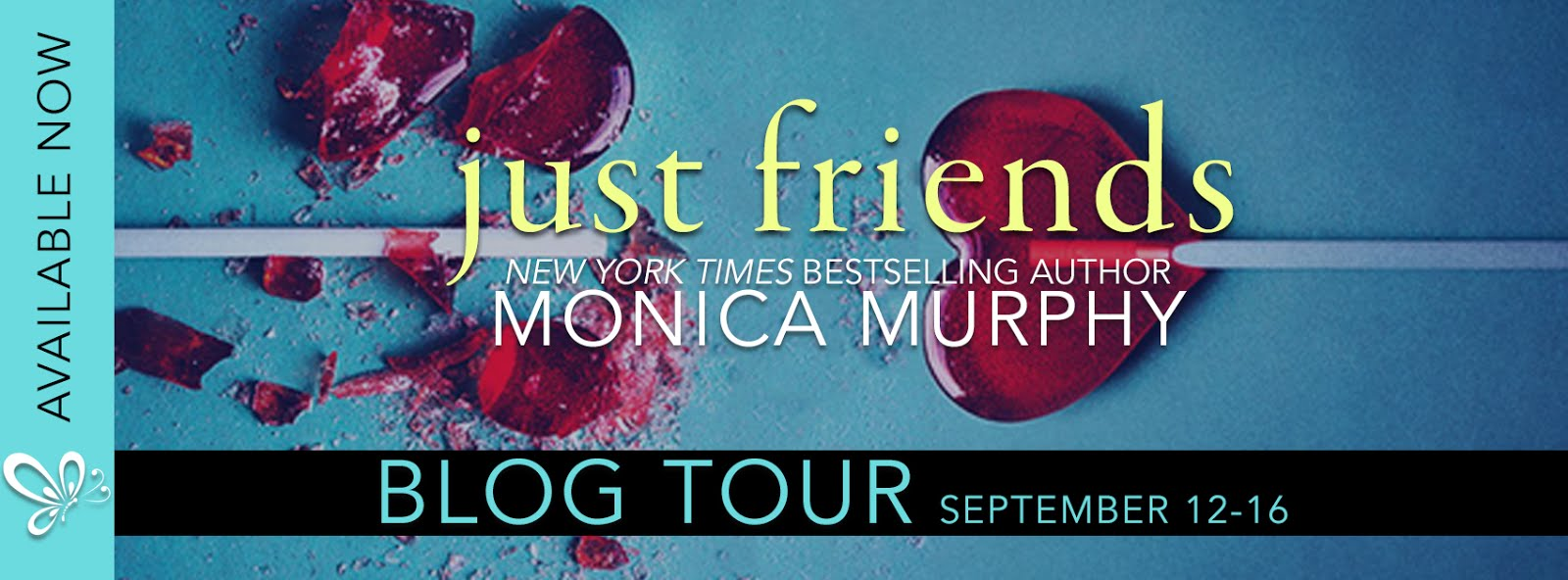 Just Friends Blog Tour & Review