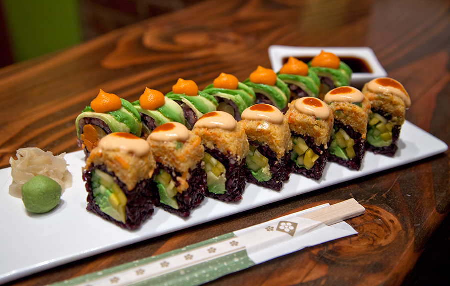 Electric Ink For The Mobile Age: Gourmet Sushi Photography