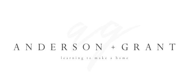 anderson + grant
