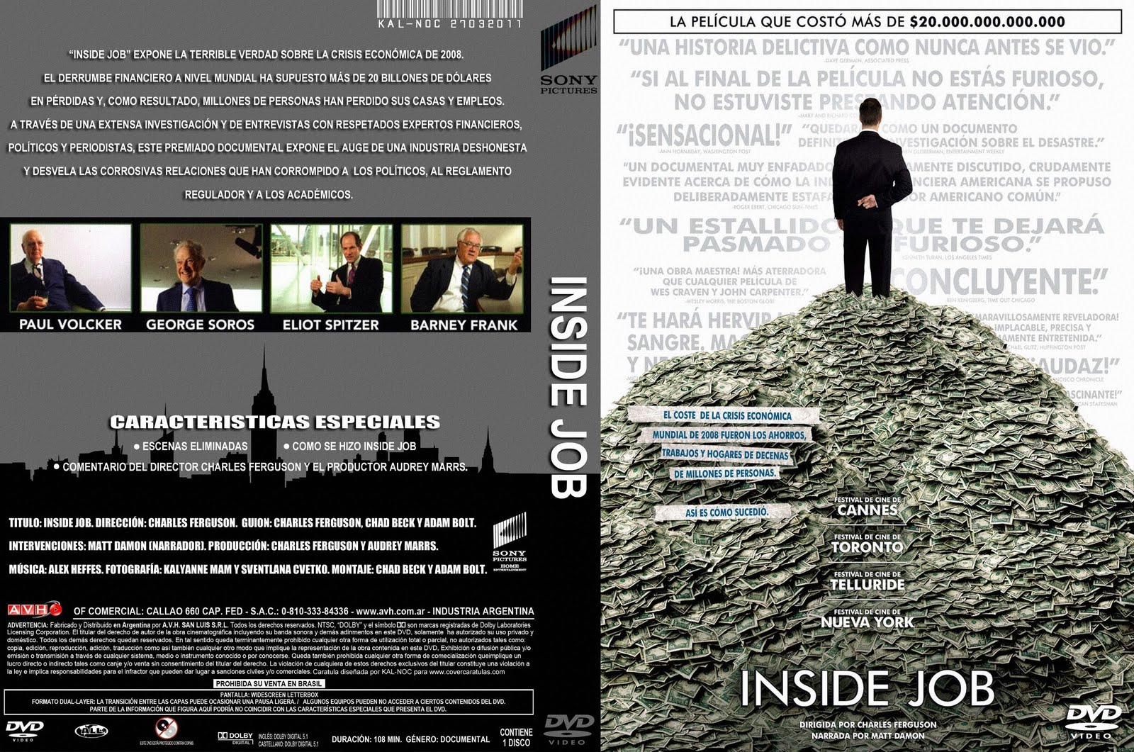 the consequences of unethical decisions in inside job a documentary by charles ferguson Dr dean lorich, a surgeon who volunteered in haiti and exposed clinton foundation corruption on the island, has been found dead in new york.