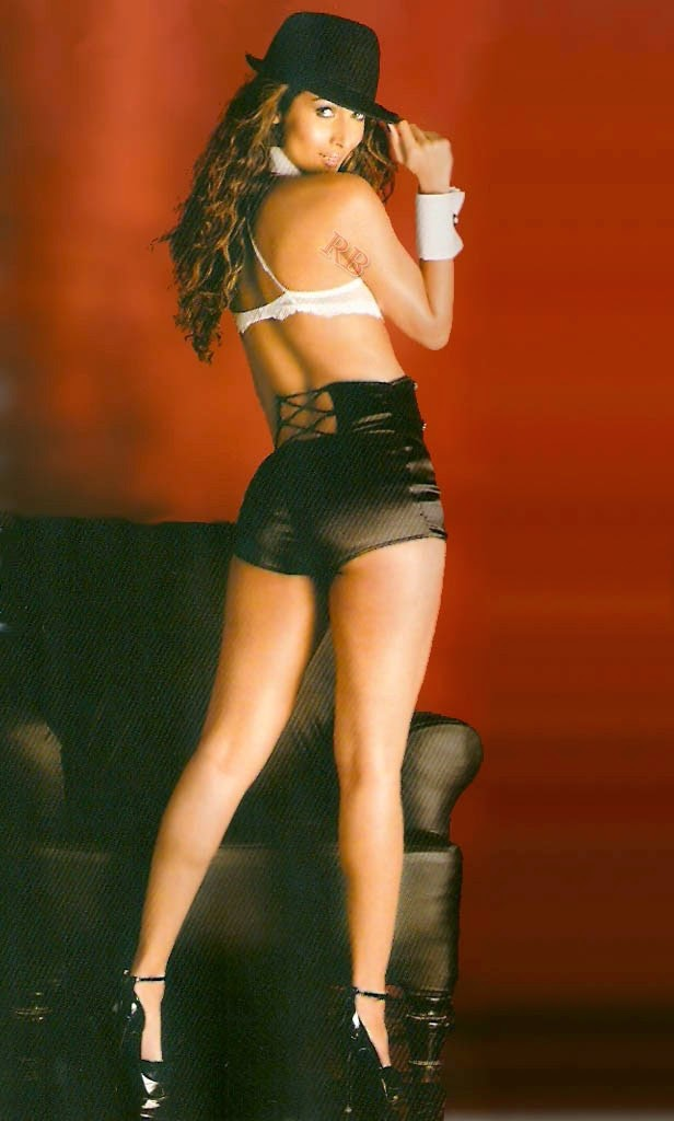 Malaika arora khan in black tight shorts white bra hot photoshoot maxim magazine hot pics
