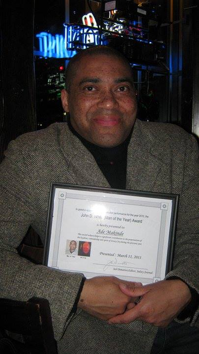 John D. White 'Man of the Year' Award for 2010.