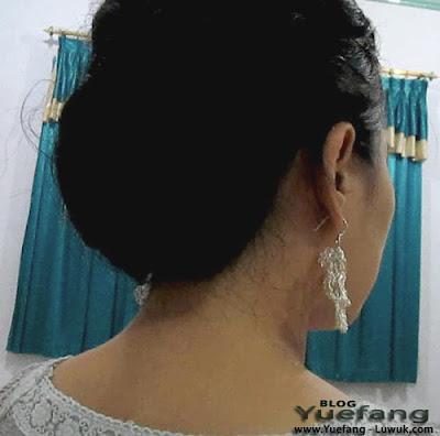 Hairstyle_low_bun_using_chignon