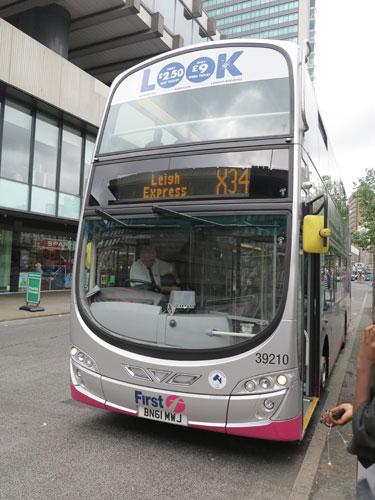 X34 Leigh Express bus