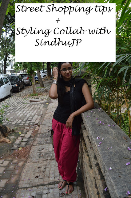 My tips for Street Shopping + Styling feat SindhuJP image