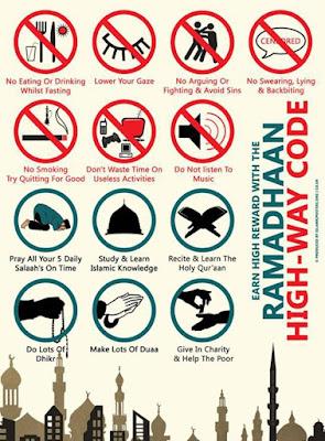 perkara yang perlu dan tak perlu dalam bulan ramadhan