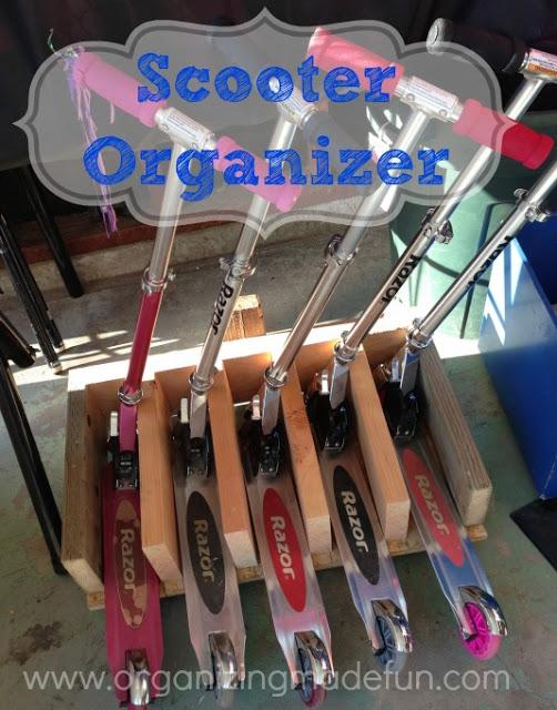 Organize Scooters :: OrganizingMadeFun.com