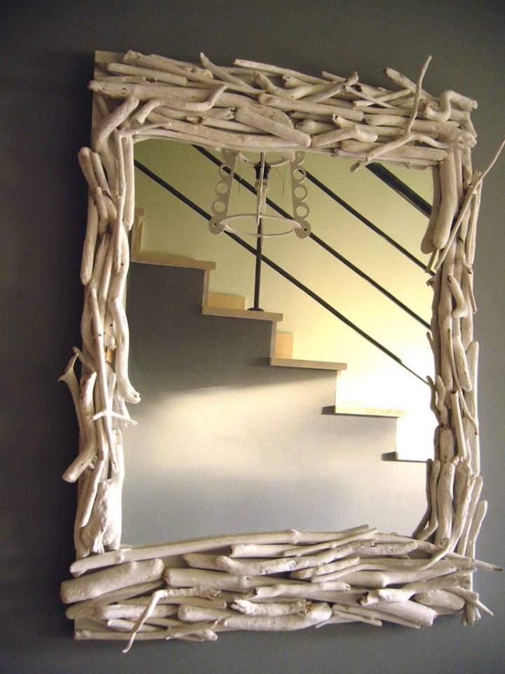 Reciclar Reutilizar y Reducir Fantsticas ideas para decorar espejos