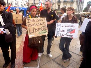 Les indignés de Montpellier
