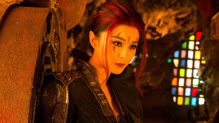 bingbing fan as blink in x men days of future past movie
