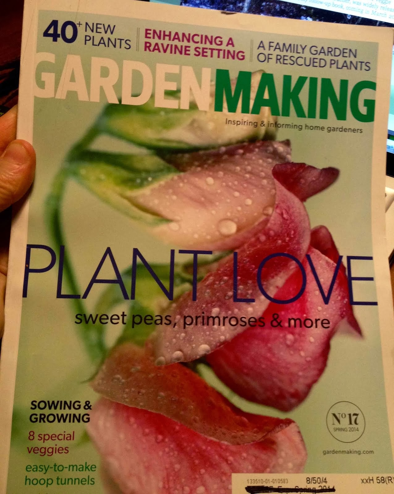 Available now - the spring issue of Garden Making!