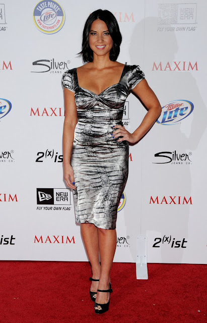 Olivia Munn Poses Maxim Hot 100 Hollywood Party