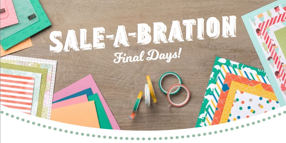 SALE-A-Bration - FINAL DAYS!