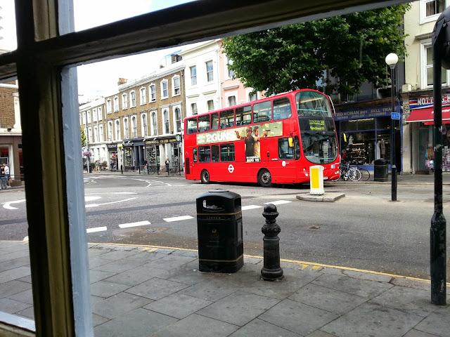 символ лондона + двухэтажный автобус