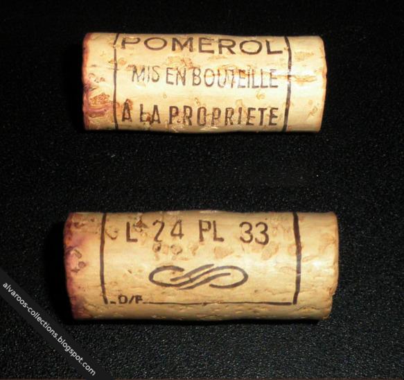 Wine cork: Pomerol L24 PL 33, D/F