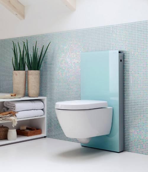 Construindo Minha Casa Clean Vasos Sanitários Suspensos! Veja Banheiros e La -> Decoracao De Banheiro Com Vaso Sanitario Preto