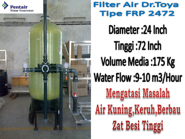 filter air besar