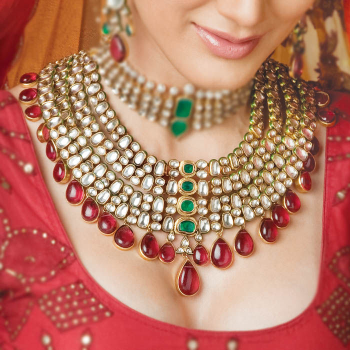 Fabulous Indian Bridal Kundan Jewelry Sets 700 x 700 · 103 kB · jpeg