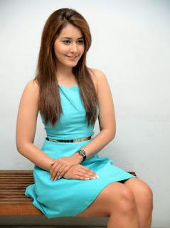 Actress Rashi Khanna  Pictures in Short Dress at Jil Trailer Launch  30