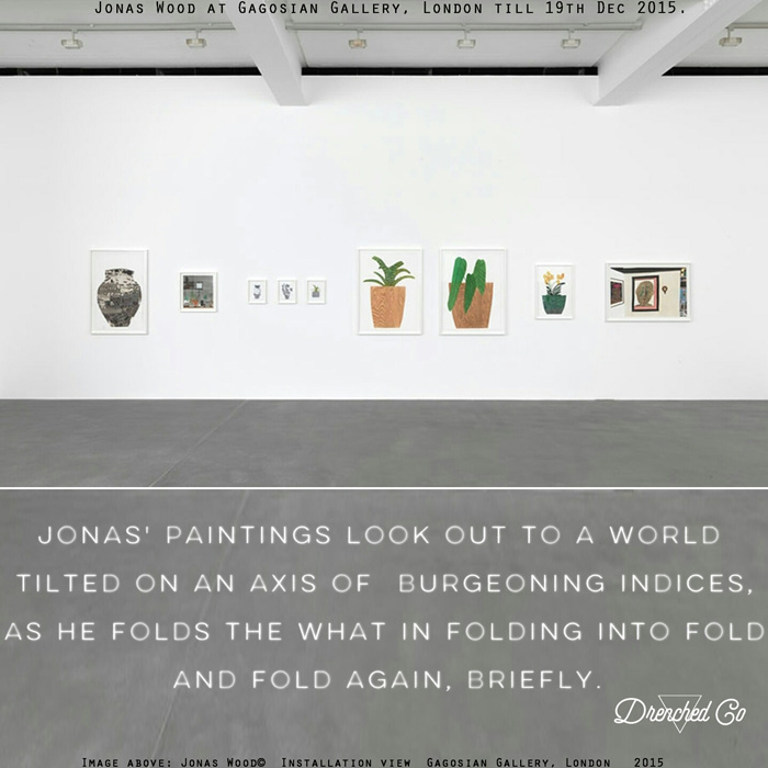 Image of Gagosian Gallery, London with art exhibition review by Drenched Co.