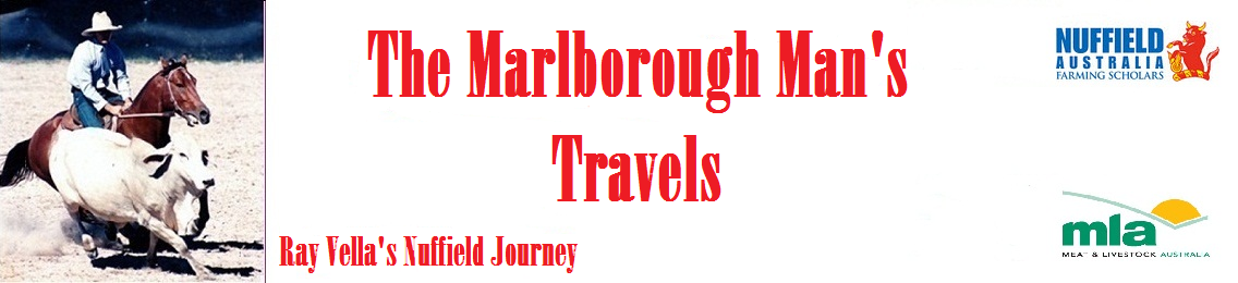 The Marlborough Man's Travels