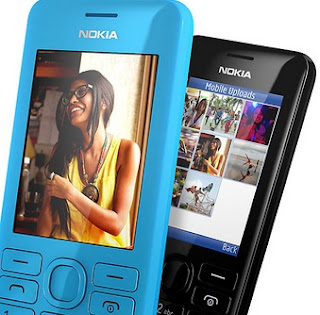 Nokia 206 Dual SIM Layar 2.4 inch Harga Rp 500 Ribuan