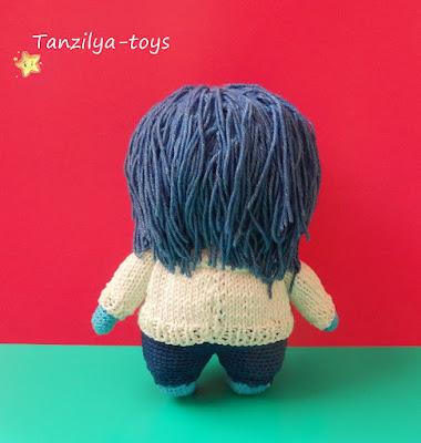 мастер-класс вязания куколки