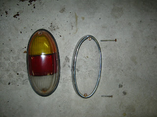 Tail light with bezel