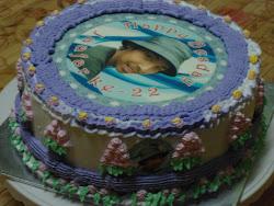 Kek Cokelat Birthday