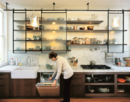 ://Wwwnancyafinkcom/kitchen Shelving Ideas For Modern Kitchenhtml