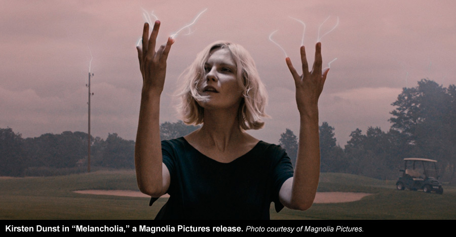 What is the thesis in the miracle of melancholia