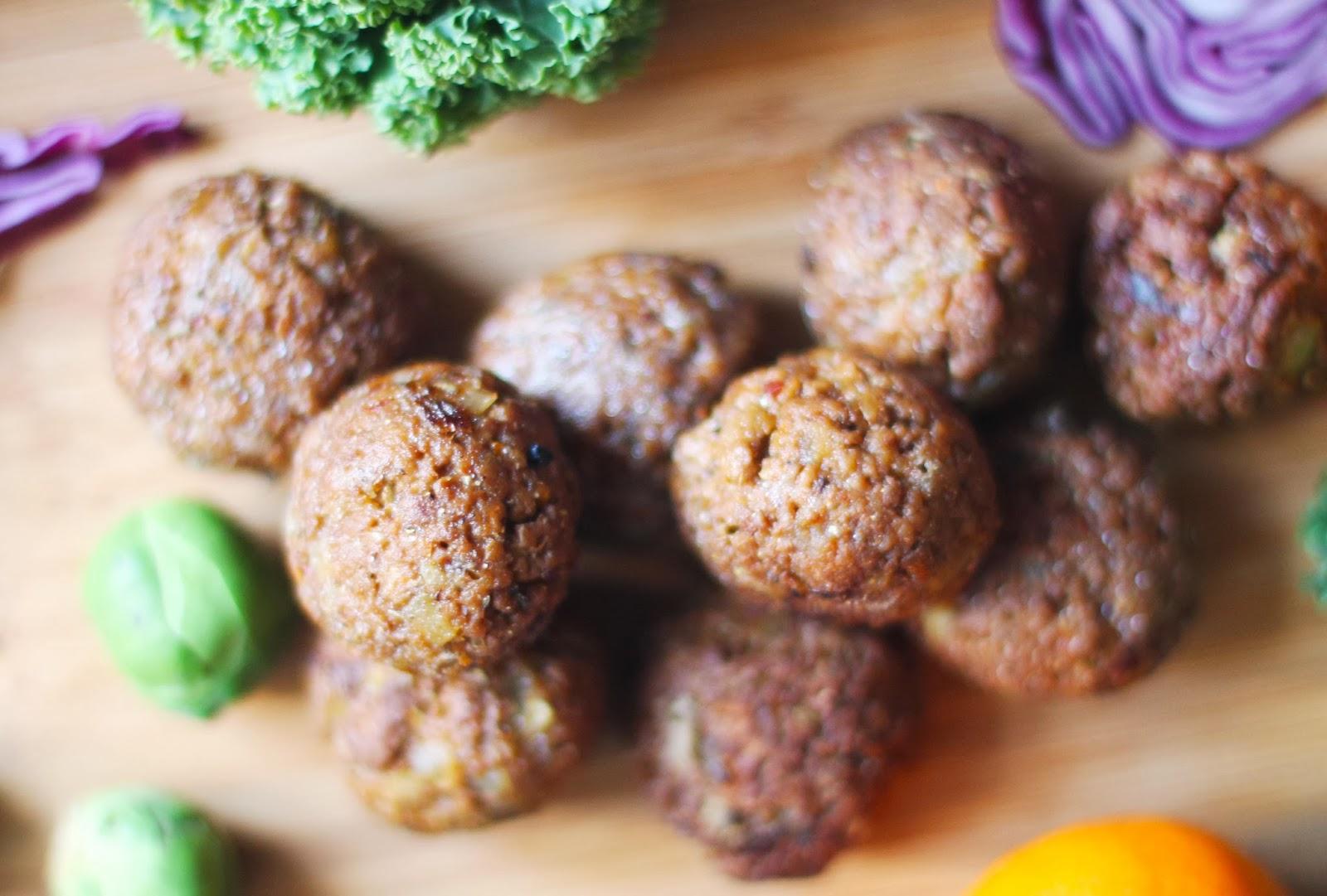 vegetariska köttbullar quornfärs