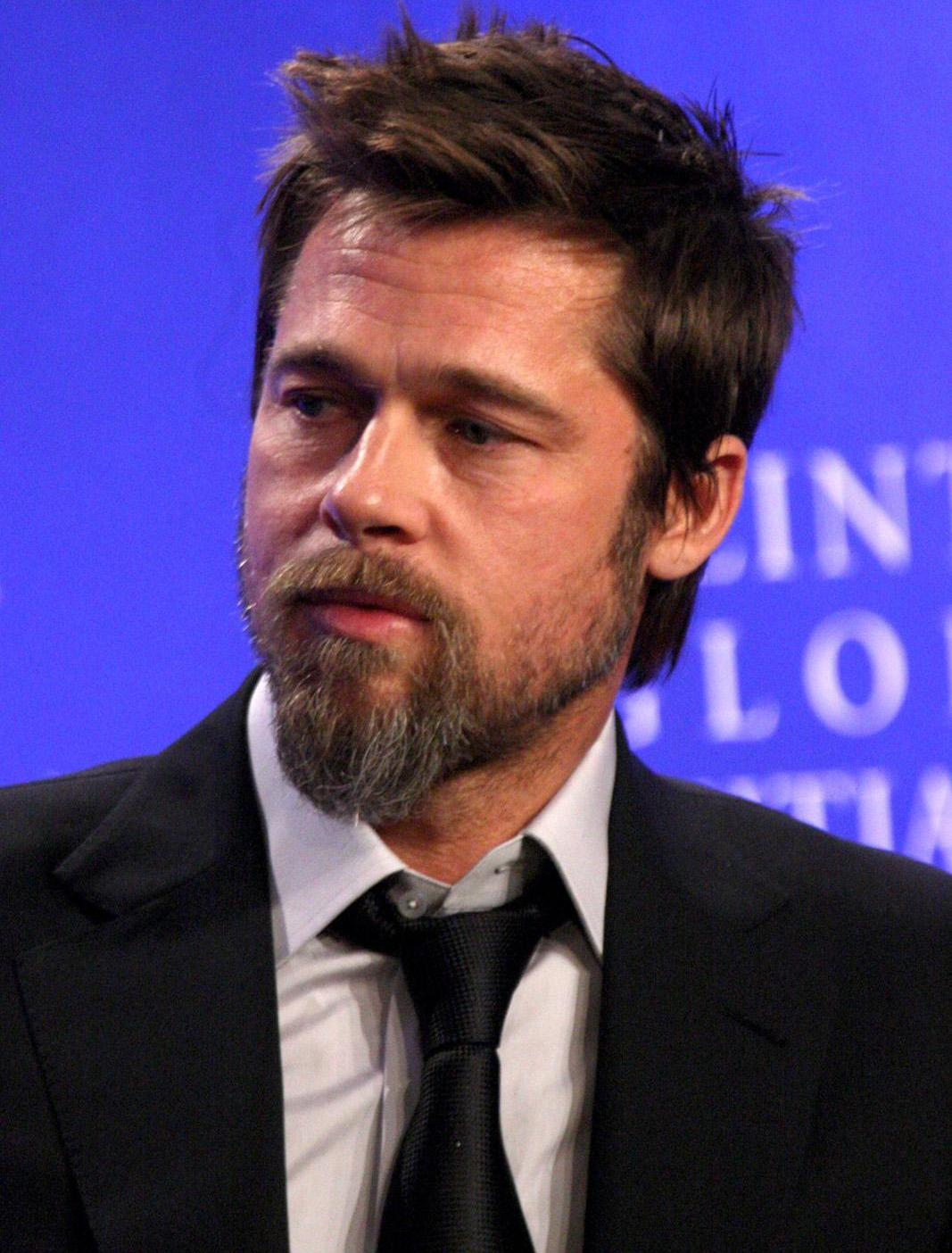Hairstyles For Men Brad Pitt Hairstyles Documenting His