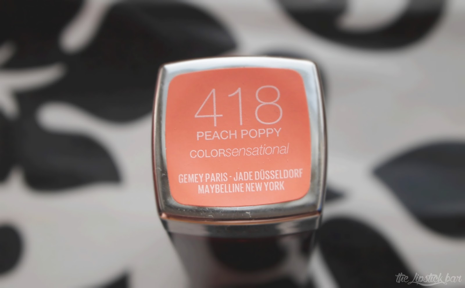 Maybelline colorsensational 418 Peach Poppy