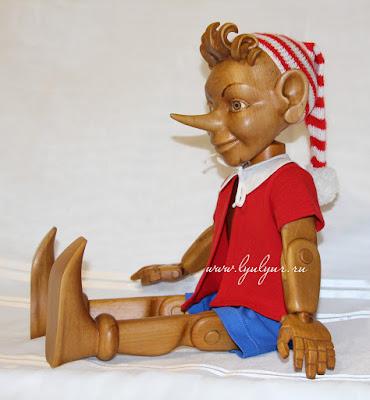 Буратино деревянный, Кукла из дерева, Автор Цапенко Юрий Васильевич, Золотой ключик, Сказочный персонаж, Эксклюзивный подарок, Подарок ребенку, Интерьерная кукла, Украшение праздника, Живая кукла, Длинный нос, Деревянный мальчик, Пиноккио, Люлюр, Lyulyur