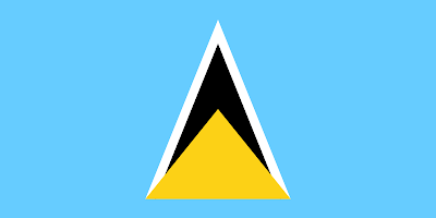 National Flag of Saint_Lucia