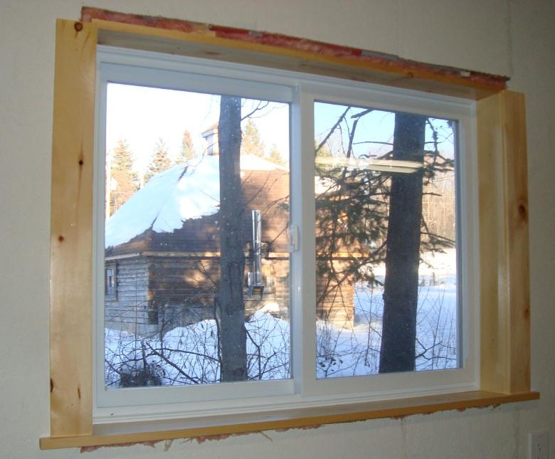 follow your heart woodworking: Workshop Window Trim