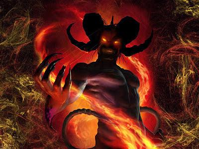 Resultado de imagem para foto do diabo