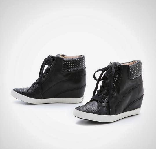 Helsinki Wedge Sneakers
