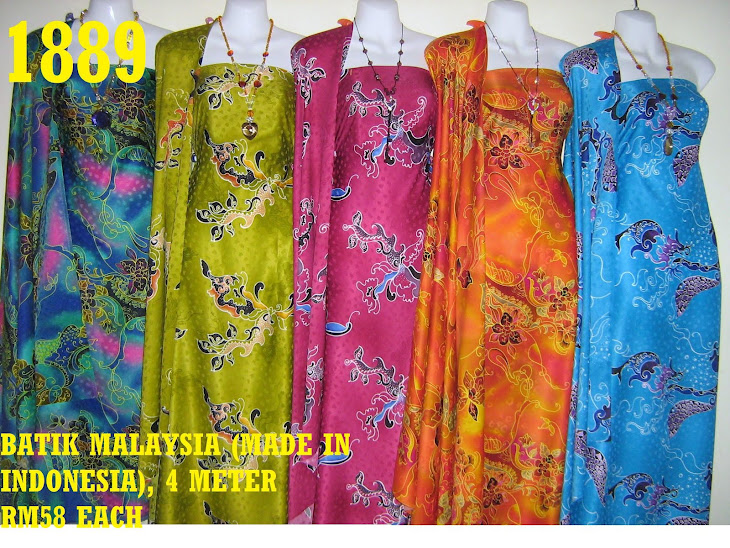 BM 1889: BATIK MALAYSIA (MADE IN INDONESIA), 4 METER