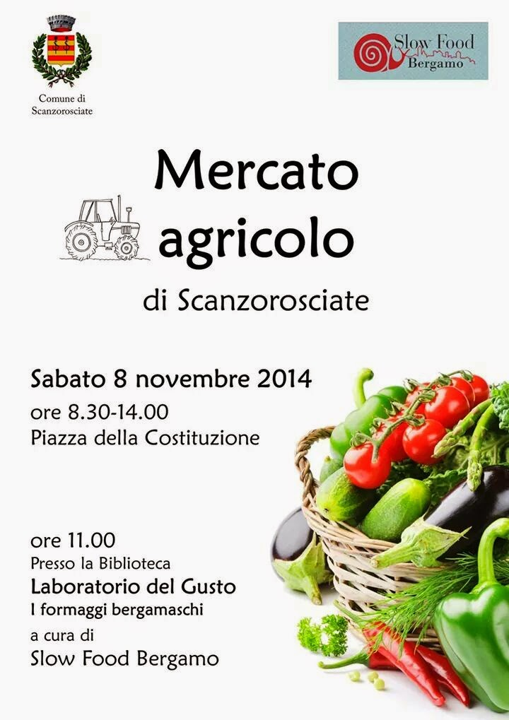 Mercato Agricolo di Scanzorosciate 2014