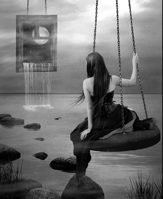 Ondeando en mi cúspide...rastreando las grietas x donde supuran hálitos agonizantes..!