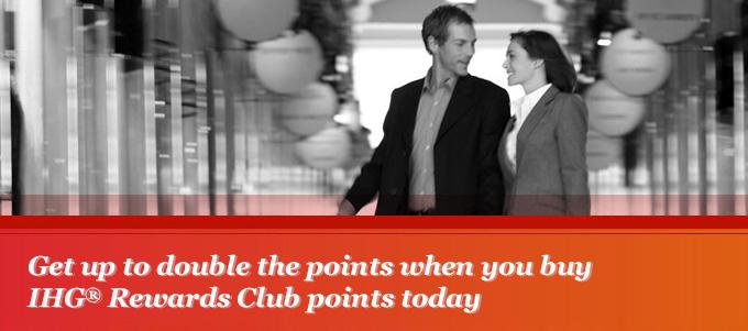 Dwa razy więcej punktów IHG Rewards Club