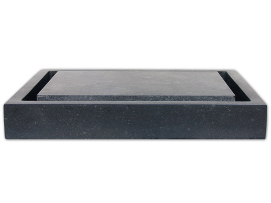 Black Basalt Infinity Slab Sink