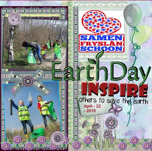 April 15 Save the earth