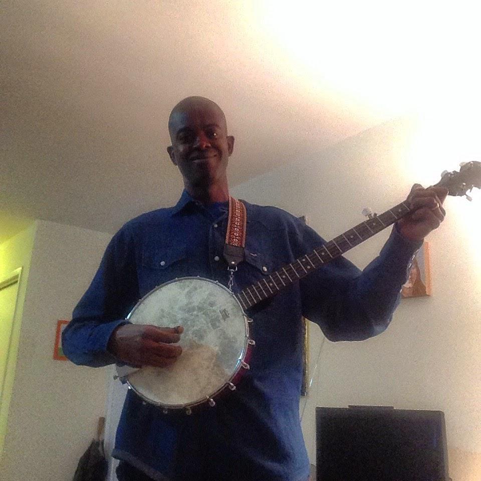 Me playing the banjo