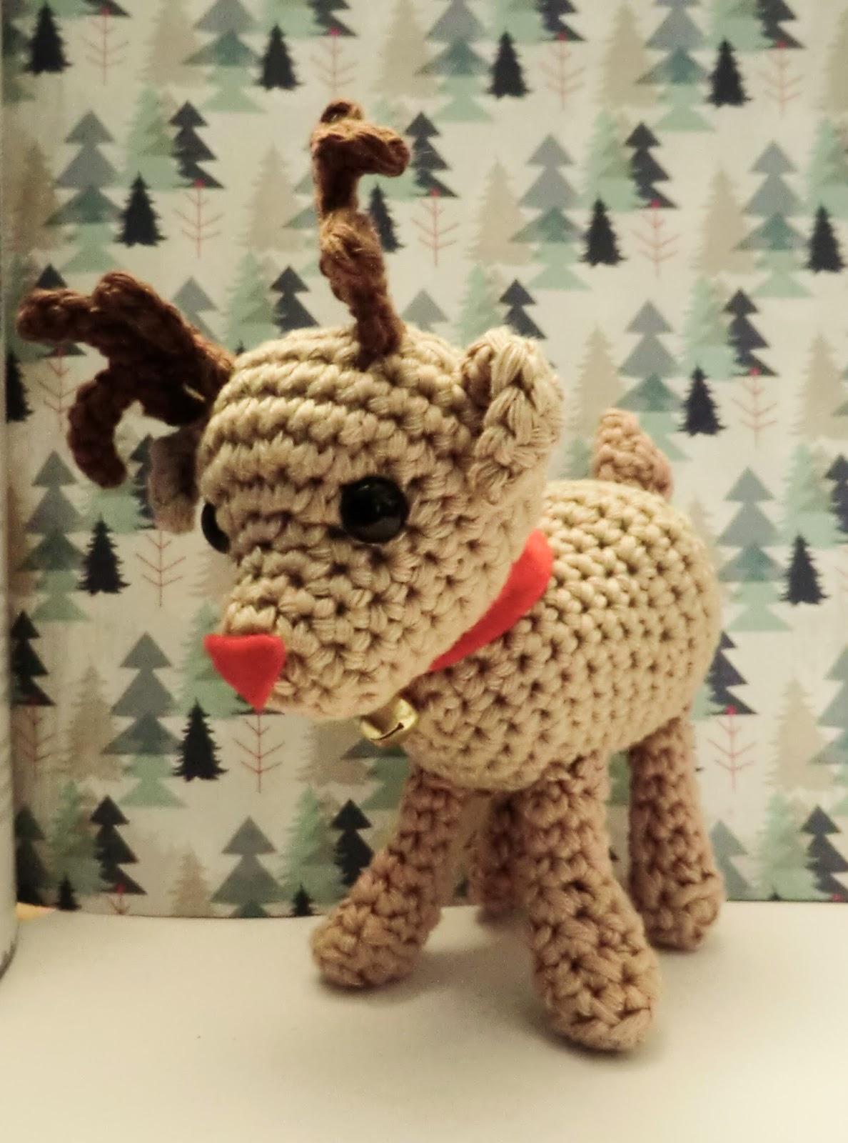 Christmas Reindeer Amigurumi : Amigurumi Barmy: Advent calender day twenty